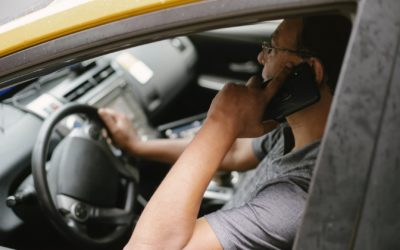 Be Aware of Distracted Driving